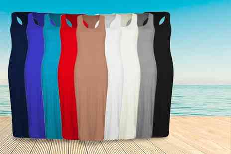 Something About Fashion - Racer back maxi dress - Save 65%