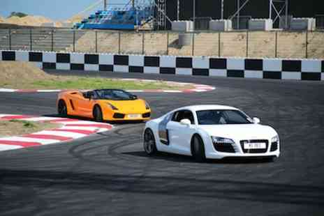 Supercars Scotland - Three lap Supercar Experience with Professional Driver - Save 78%