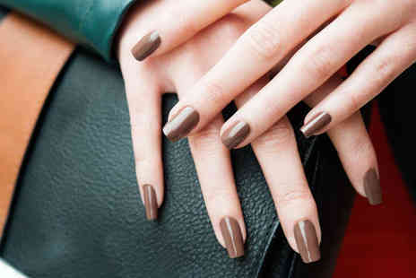 Nails in the city - Manicure with Opi EzFlow Treatment - Save 52%