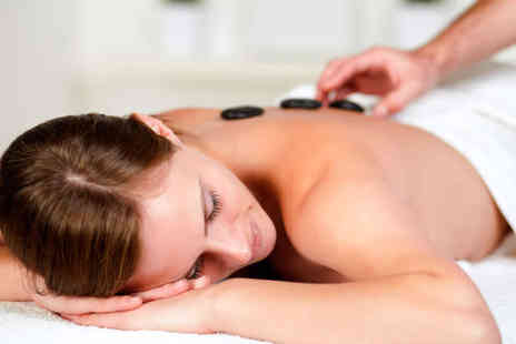 Preemo - Hot Stone Back  Massage or Manicure and Pedicure OR Haircut, Blow Dry and Conditioning Treatment  - Save 60%