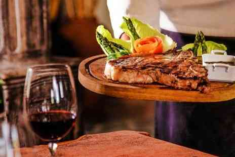 The Carington Arms - Steak Meal With Wine For Two - Save 50%