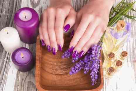 K&D Beauty Salon - Gel Manicure or Pedicure - Save 50%