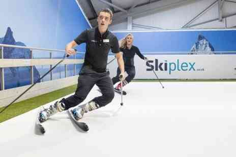 Skiplex - Ski or Snowboard Lesson - Save 46%