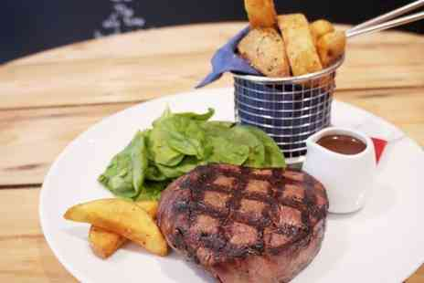 Cristinas - 10oz Fillet Steak With Sides and Wine For Two - Save 55%