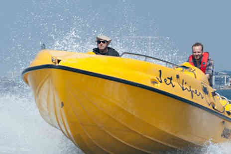 Saber Powersports - Exhilarating powerboat ride along the Solent - Save 71%