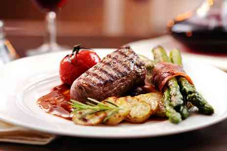 Farthings Steak Emporium - Highly Rated Dinner & Wine for 2  - Save 47%