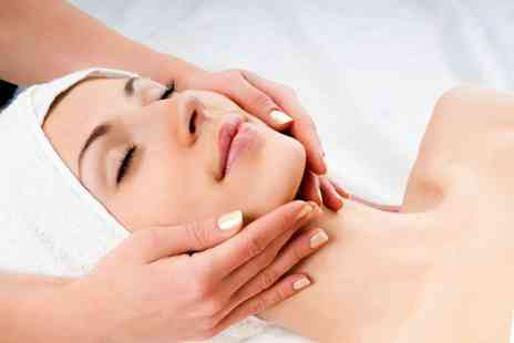Salon & Training - Deluxe facial and back, neck and shoulder massage - Save 67%