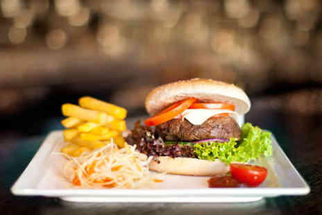 Henleys Sports Bar and Grill - Burger and beer meal for Two - Save 57%