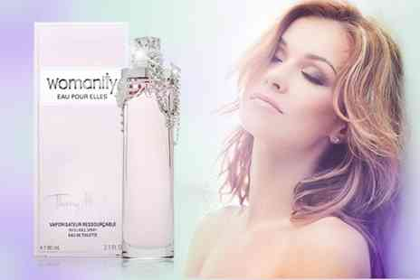The London Perfume Company - 80ml bottle of Thierry Mugler Womanity Eau Pour Elles EDT - Save 44%