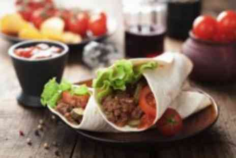 Burrito Cafe - Burrito, beer, churros & coffee for 2 - Save 50%