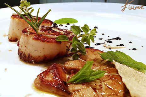 Fiume - Two Course Lunch with a Glass of Wine for Two - Save 52%
