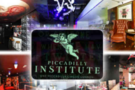Piccadilly Institute - Club Entry and Cocktails for Two - Save 72%