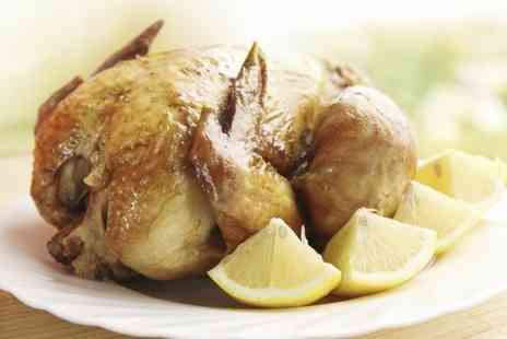 Grillado - Rotisserie Chicken Meal With Wine For Two - Save 52%