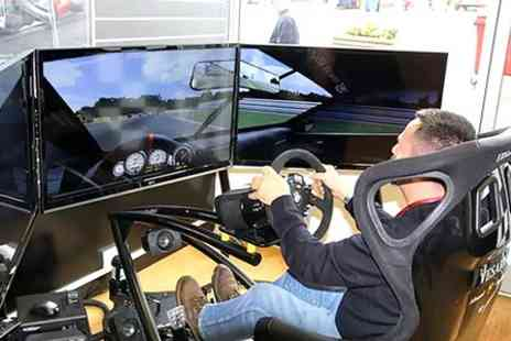 RACE HUB - 30 Minute Brands Hatch Driving Simulator Experience - Save 50%