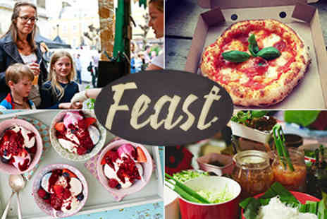 FEAST Festival - Top Food Festival in London with Family Feast Friday - Save 50%