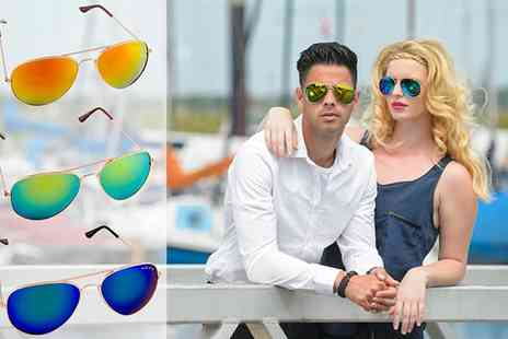 SVB Trading - Three Bilderberg Aviator Sunglasses in Several Colours - Save 58%