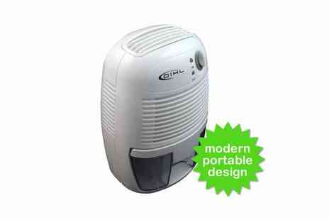 To Your Home - 500ml or 2000ml Portable Dehumidifier - Save 47%