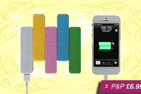 Snippick - Mini portable power bank in a choice of colours - Save 88%