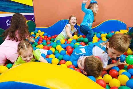 i play - Entry to Soft Play Centre for Two Adults and Two Children - Save 52%