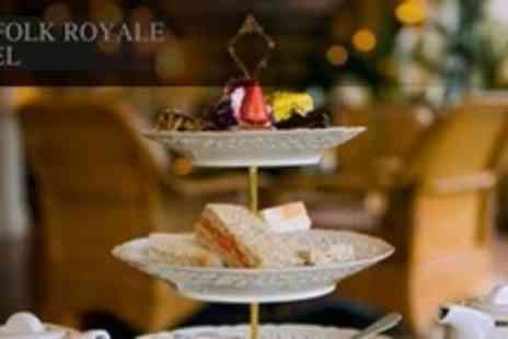 The Norfolk Royale Hotel - Afternoon Tea With Champagne For Two - Save 59%