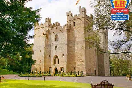 Langley Castle Hotel - One Night Stay for Two People with Daily Full English Breakfas - Save 57%