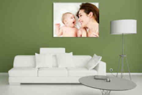 TRUPRINT - Choice of Personalised Photo Canvases - Save 65%