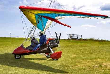 Wiltshire Microlights Centre - One Hour Flying Lesson - Save 50%