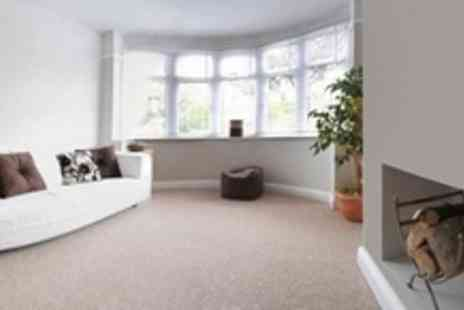 MJW Deep Clean - Carpet Cleaning With Stainguard Treatment For Two Rooms - Save 84%