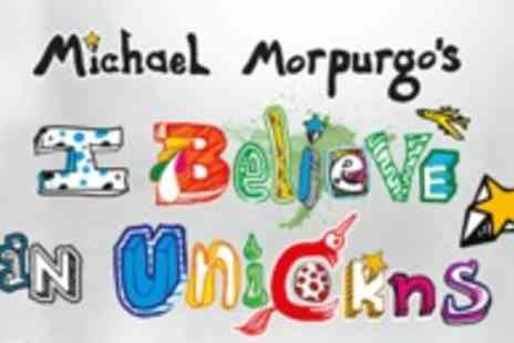 Nimax Theatres - Michael Morpurgos I Believe in Unicorns theatre show - Save 50%