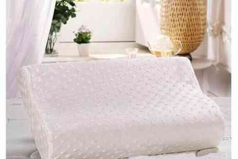 WEKSI - Wave memory foam cotton pillow  - Save 62%