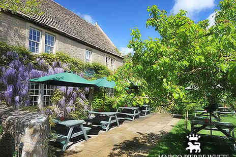 The Pear Tree - Marco Pierre White Dining in Historic Wiltshire - Save 58%
