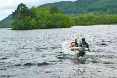 Loch Lomond Boat Hire -  Two Hour Speed Boat Session  - Save 51%