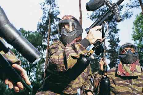 Ministry of Paintball - Entry to Paintball and 100 Balls For Five  - Save 79%