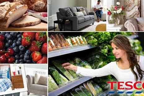 Tesco - £10 to Spend at Tesco for just £5 - Save 50%