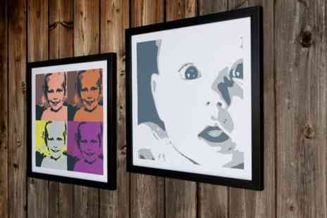 Mezoo UK - Personalised Pop Art Print - Save 86%