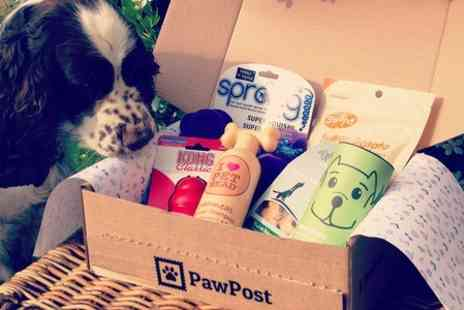 PawPost -  Pet Hamper Subscription for Cats or Dogs  - Save 48%