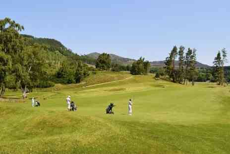 Pitlochry Golf Club - 18 Holes of Golf with Refreshments  - Save 58%