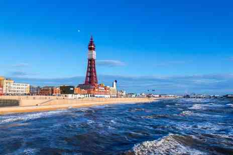 The Melville Hotel  - Two Night Blackpool Break for 2 - Save 49%