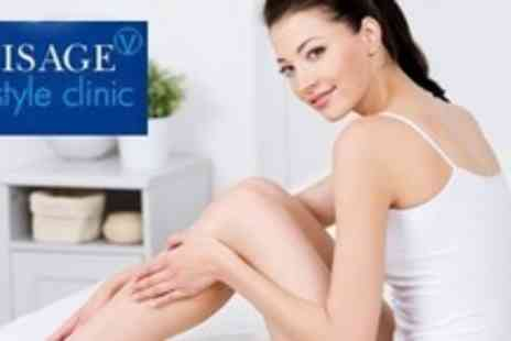 Visage Lifestyle Clinic - Six Sessions of IPL Hair Removal on Two Small - Save 86%