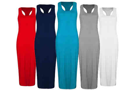 Karma Clothing - Sleeveless Maxi Dress - Save 60%