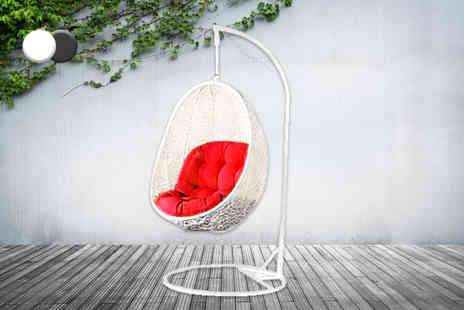 Once Upon a Company - Rattan cocoon hanging garden egg chair  - Save 60%
