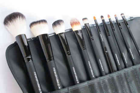 Make Up Brush Set - Ten Piece Make Up Brush Set - Save 75%