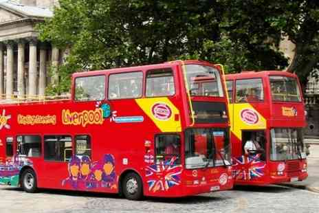 City Sightseeing Liverpool - City Sightseeing Liverpool For Two - Save 55%