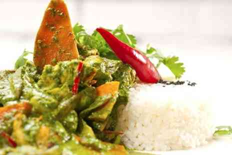 Omar Khans - Two Course Indian Meal For Two  - Save 54%