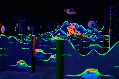 Quasar Sheffield - Laser fun  includes two games and drinks - Save 58%