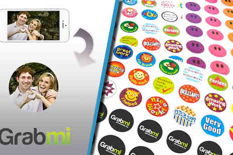 Grabmi - 60 Personalised Sticker - Save 50%