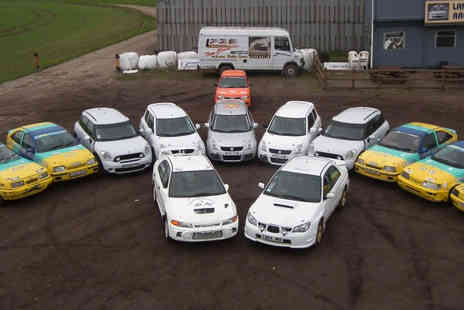 Langley Park Rally School - Thrilling Half Day Rally Driving Experience  - Save 58%