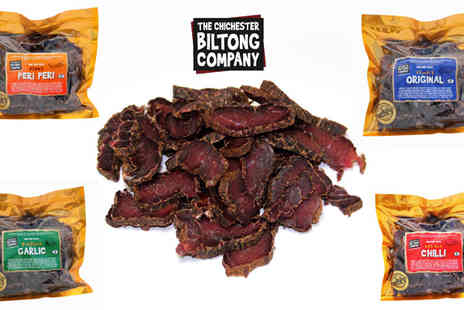 The Chichester Biltong Company - 500g British Beef Biltong - Save 50%