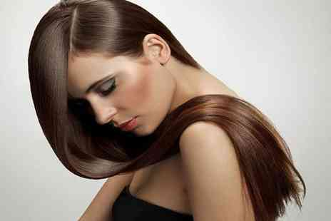 City Looks Hair - Half head of highlights or full head of colour, restyle cut and blow dry - Save 62%