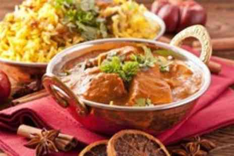 Ahmeds Curry Cafe - Two course Indian meal for 2 - Save 54%
